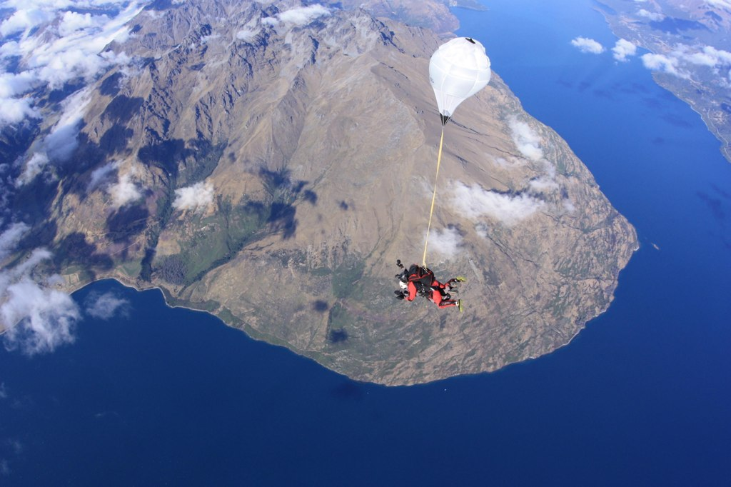 Skydive - Queenstown, New Zealand