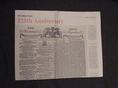 The Daily Universal Register 1785 newspaper