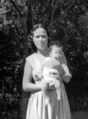 Elizabeth Perez Arriola and Firstborn