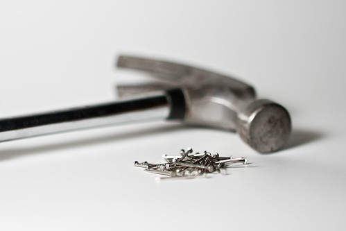 Hammer and nails by Anders Illum, on Flickr