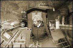 Wuppertal-Elberfeld, Neumarkt: elderly woman