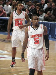 Chane Behanan and Chris Smith, Louisville Card...