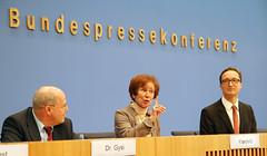 Vorstellung von Beate Klarsfeld in der Bundesp...