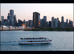 Chicago Evening Mood
