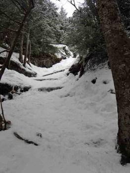Steepness of the Lion Head Trail Winter Route