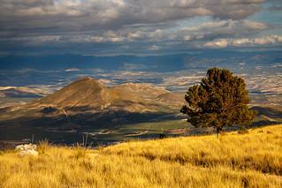 Vista a Sierra de Cazorla desde la Serrezuela