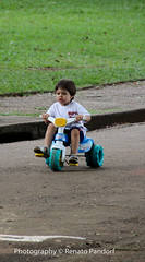 Racing on the park