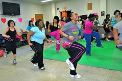 Hannam digs deep with one year of fiery Zumba