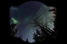 World' Of Auroraborealis And Home
