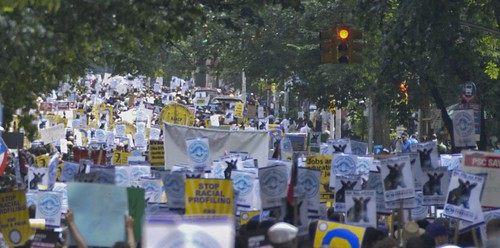 March to End NYPD's Stop-and-Frisk