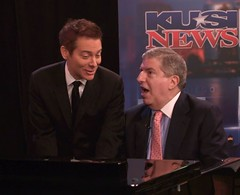 Michael Feinstein and Marvin Hamlisch By Phil ...