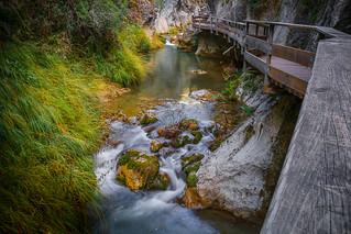 Pasarela en Rio Borosa - Sierra de Cazorla