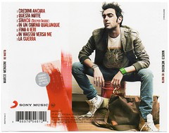 Marco Mengoni - Re Matto - back