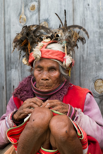 Age and beauty. Banaue