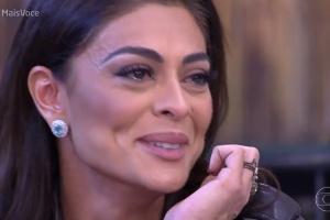 Juliana Paes e Deborah Secco se emocionam com declarações de maridos