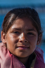 Young Hispanic girl named Taquana expressed a ...