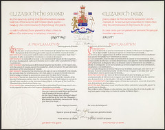Proclamation of the Constitution Act, 1982 / P...