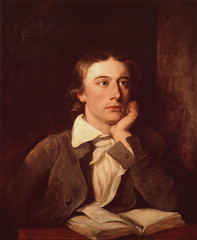 John Keats, Portrait by William Hilton, after ...