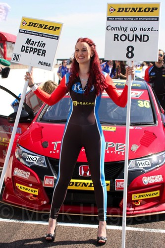 Martin Depper during the BTCC Weekend at Thruxton, May 2016