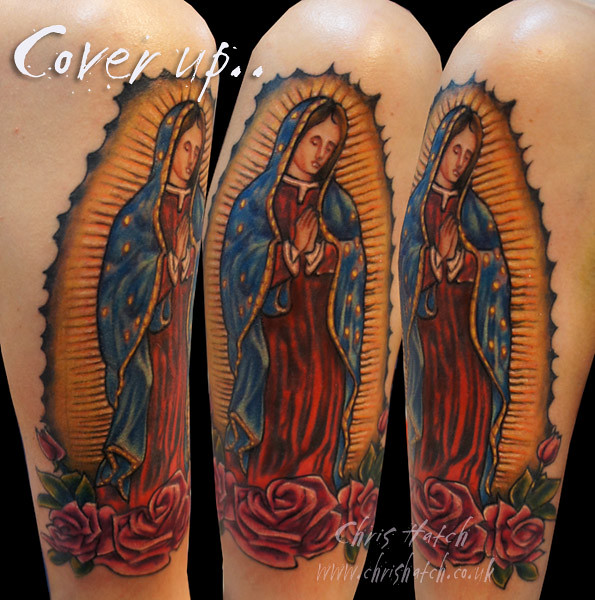 The Worlds Newest Photos Of Tattoo And Virgen Flickr Hive Mind