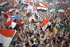 Celebrations as Muslim Brotherhood's Mohamed M...