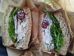 Beyond Meat Sandwich