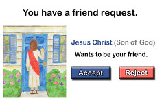 Jesus Friend Request
