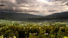 Storm in Norwegian valley