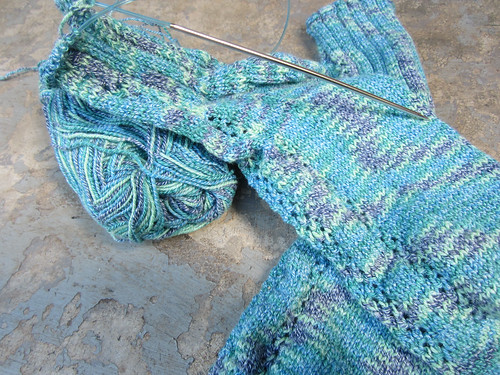wool cotton sock wip.JPG