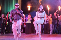 Masacote performs Salsa in the TD Bank Ballroom at WaterFire
