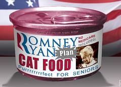 Romney Ryan Plan Cat Food