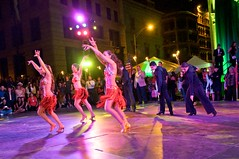 Rumba y Timbal performs Salsa in the TD Bank Ballroom at WaterFire