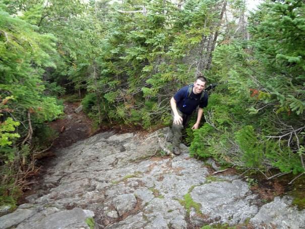 Another Rock Climb on Mt. Jefferson Castle Trail