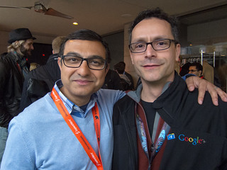 Vic Gundotra & Bradley Horowitz of Google+