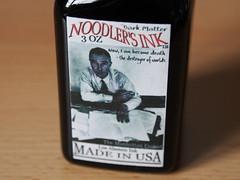 Noodler's Dark Matter - Close Up