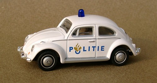 Schuco jr Politie