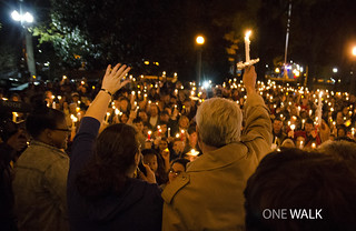 """We Are One Mississippi"" Walk at Ole Miss"