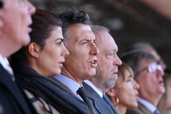 Mauricio Macri asistió a la inauguración de la...