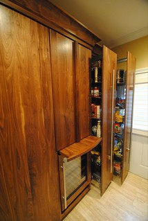 Black Walnut Laundry / Pantry