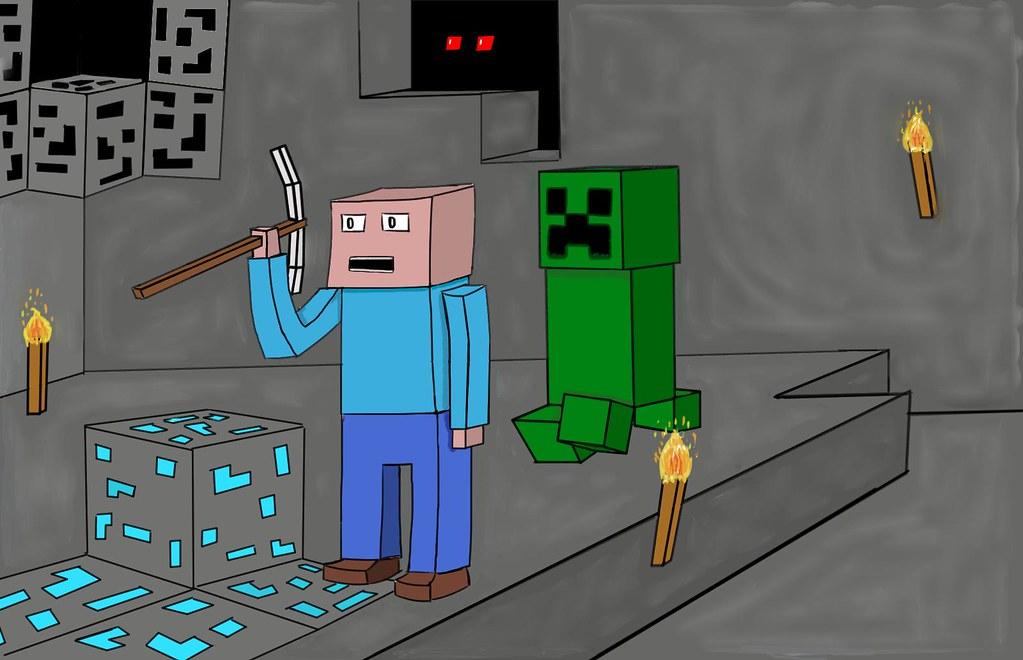 Minecraft Enderman Eyes