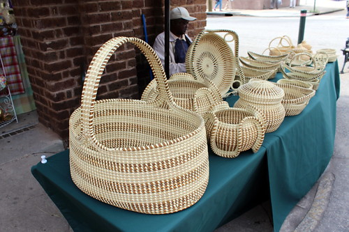 Charleston: Charleston City Market - Sweetgrass