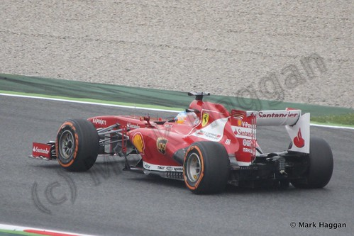 Fernando Alonso in Free Practice 1 at the 2013 Spanish Grand Prix