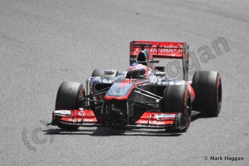 Jenson Button in the 2013 Spanish Grand Prix