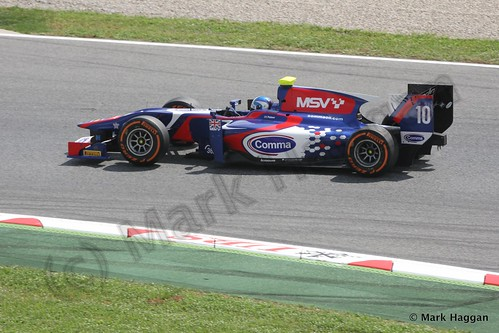 Jolyon Palmer in GP2 Free Practice at the 2013 Spanish Grand Prix