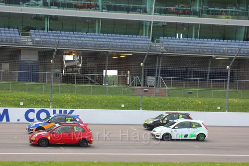 Fiesta Junior Championship at the BRSCC Weekend at Rockingham, May 2016