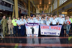 Coast Guard welcomes Honor Flight to DC