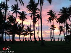 20130501 - Sunset at Truk Lagoon