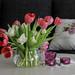 Blommor på Alla Hjärtans Dag
