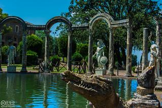 Ninfeo en Villa Adriana