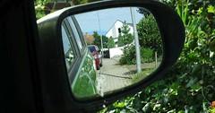 """Der Außenspiegel. Die Außenspiegel. Ein Blick in den Außenspiegel des Autos. • <a style=""""font-size:0.8em;"""" href=""""http://www.flickr.com/photos/42554185@N00/28187706052/"""" target=""""_blank"""">View on Flickr</a>"""